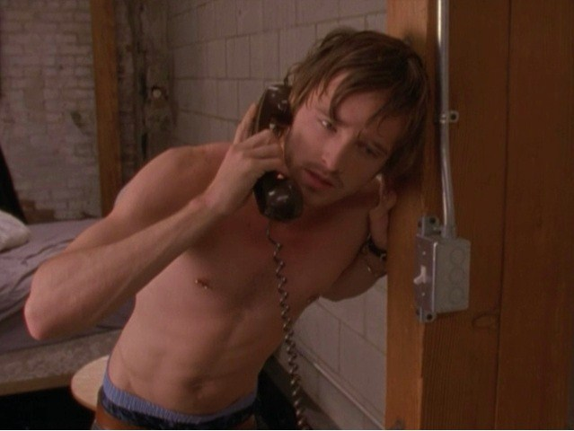 Aaron Paul Nearly Nude