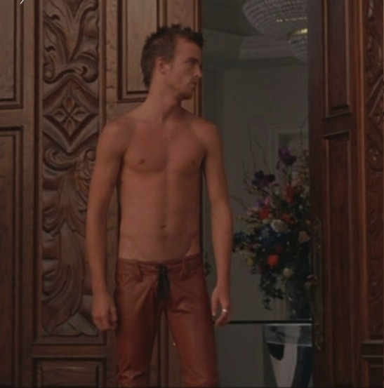 Aaron Paul Shirtless