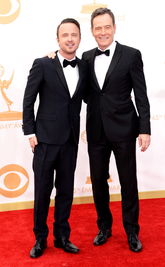 Aaron Paul and Bryan Cranston Emmy