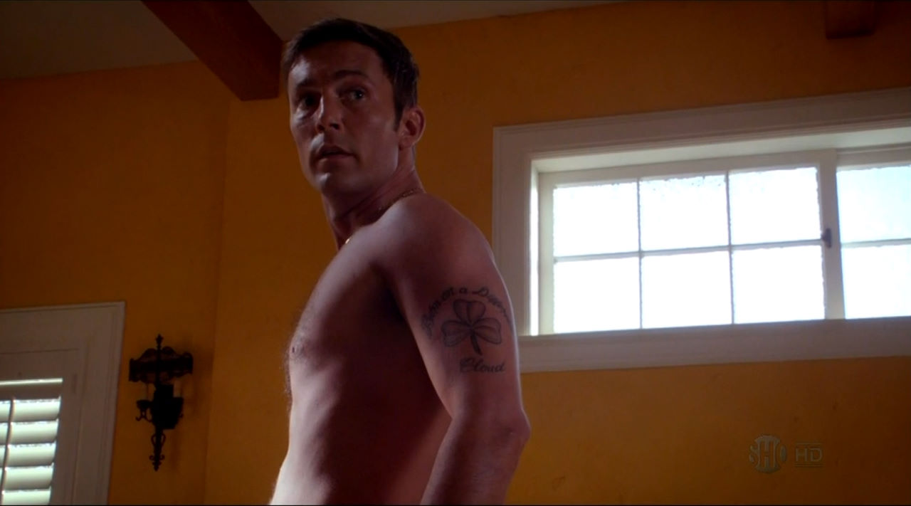 Desmond Harrington shirtless