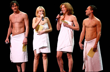 Johnny Galecki towel