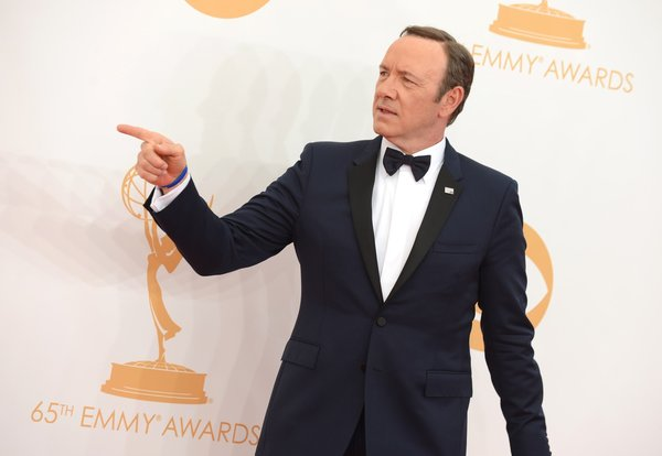 Kevin Spacey 2013 Emmys