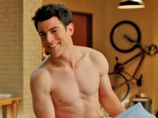 Max Greenfield Shirtless