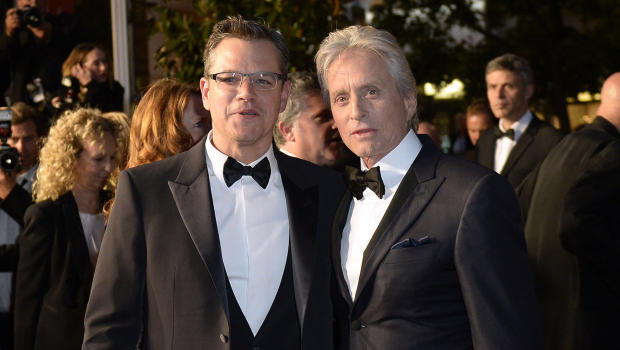 Matt Damon and Michael Douglass 2013 Emmys