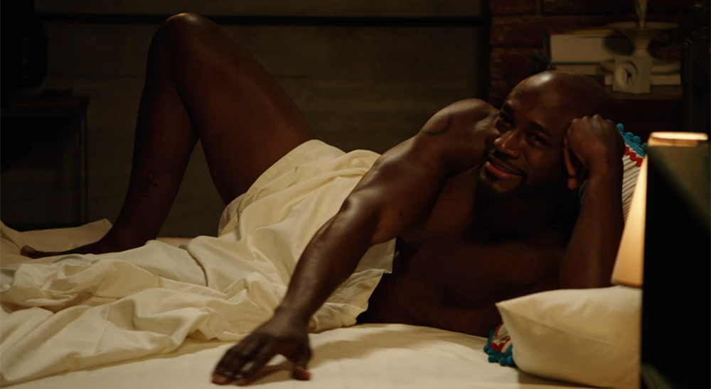 Taye Diggs Nude in Bed