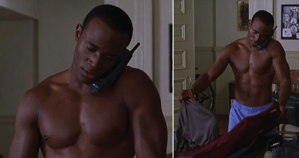 Taye Diggs shirtless
