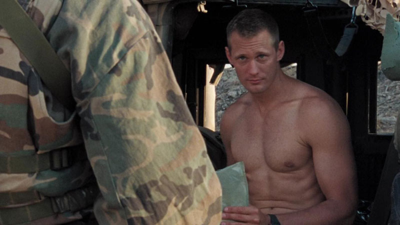 Alexander Skarsgard shirtless