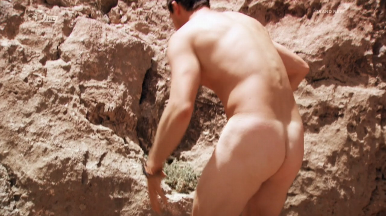 Bear Grylls Bare Ass